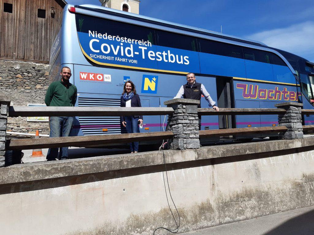 Kottes – Purk testet – mobiler Testbus