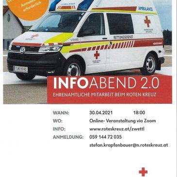 Rotes Kreuz lädt zum Info-Abend ein