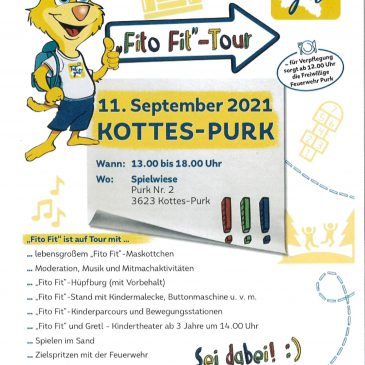 Fito Fit – Tour in Purk