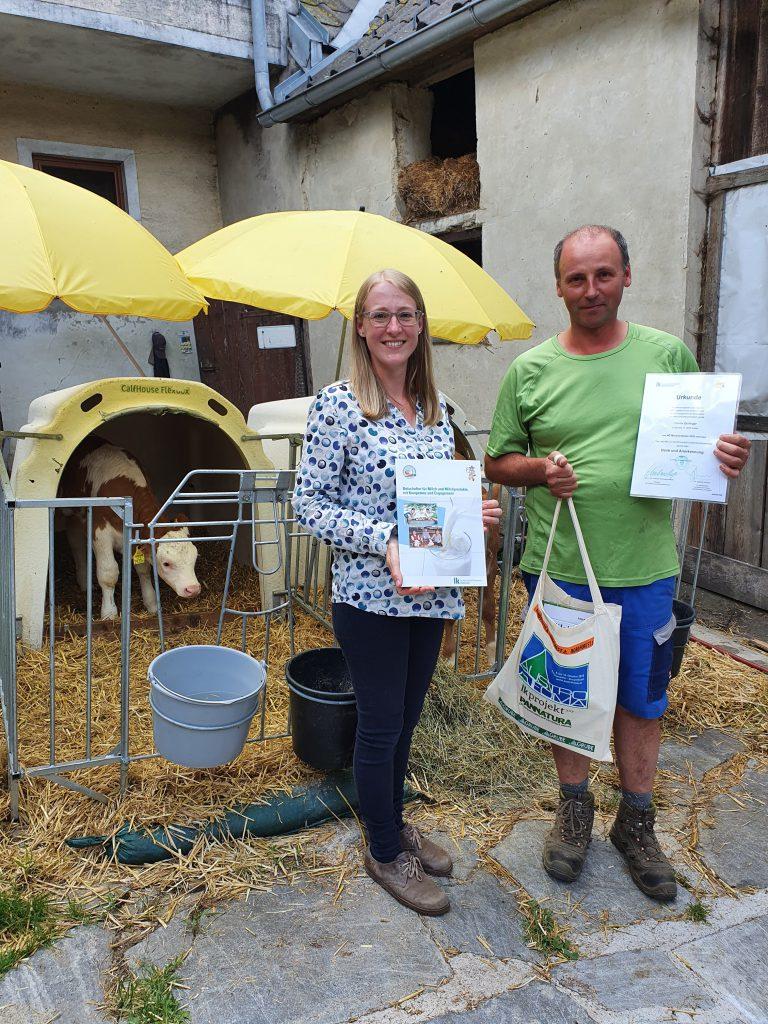 Milchlandpreis des Landes NÖ für Fam. Johann Zeillinger Heitzles