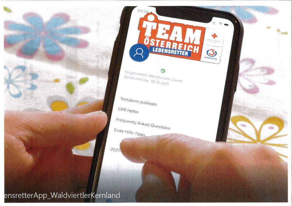Team Österreich Lebensretter-App